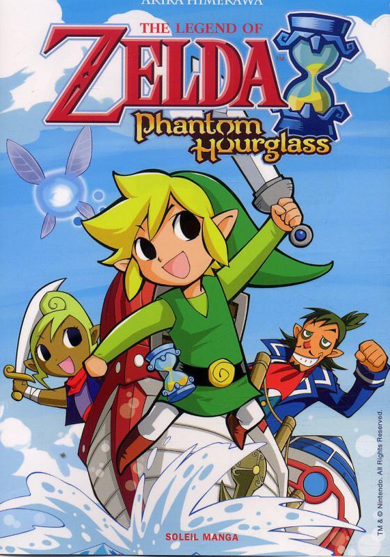 The Legend Of Zelda Phantom Hourglass Manga Chez Soleil De Himekawa