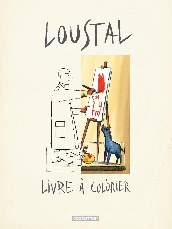 Livre à Colorier Bd Chez Casterman De De Loustal