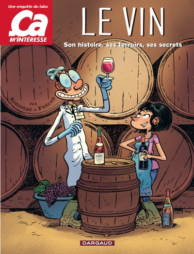 bande dessinee vin