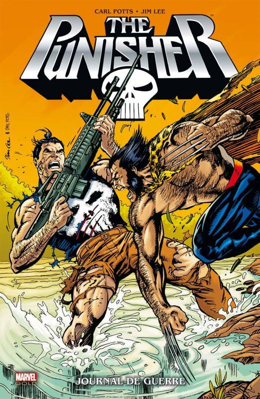 The Punisher Journal de guerre - Jim Lee,Carl Potts