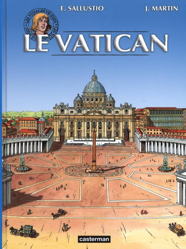 Les Voyages De Jhen T14 Le Vatican 0 Bd Chez border=
