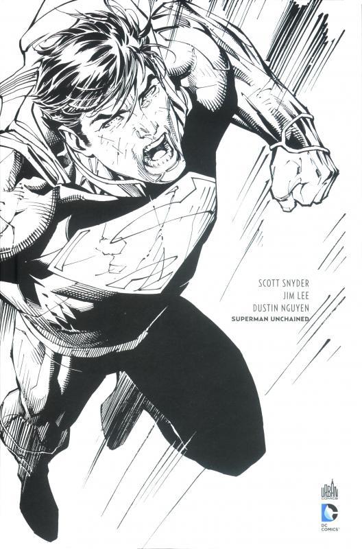 Superman Unchained Black And White 0 Comics Chez Urban Comics