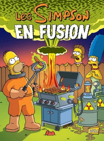 Les simpson t30 en fusion 0 comics chez jungle de boothby ortiz villanueva groening - Bande dessinee simpson ...