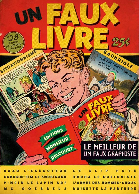 Un Faux Livre Bd Chez Delcourt De Un Faux Graphiste