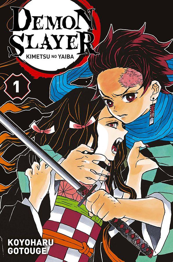 Demon slayer T1, manga chez Panini Comics de Gotouge