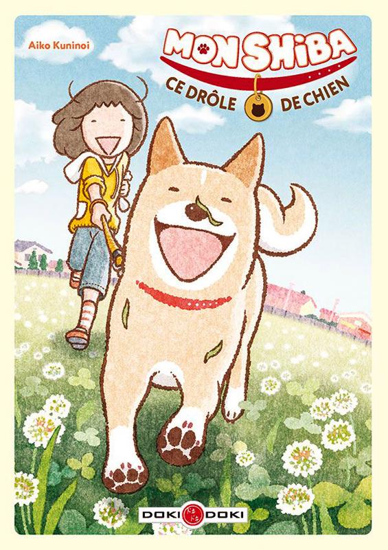 Mon Shiba Ce Drole De Chien Manga Chez Bamboo De Aiko