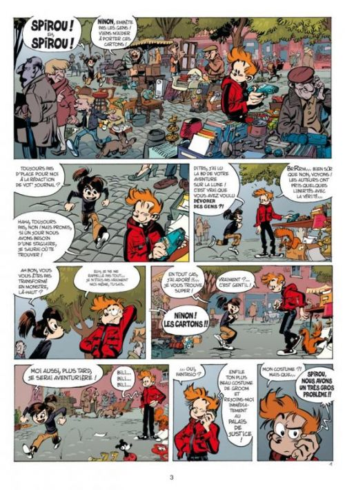51 pngs about Spirou