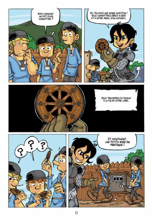 bande dessinee dont on est le heros
