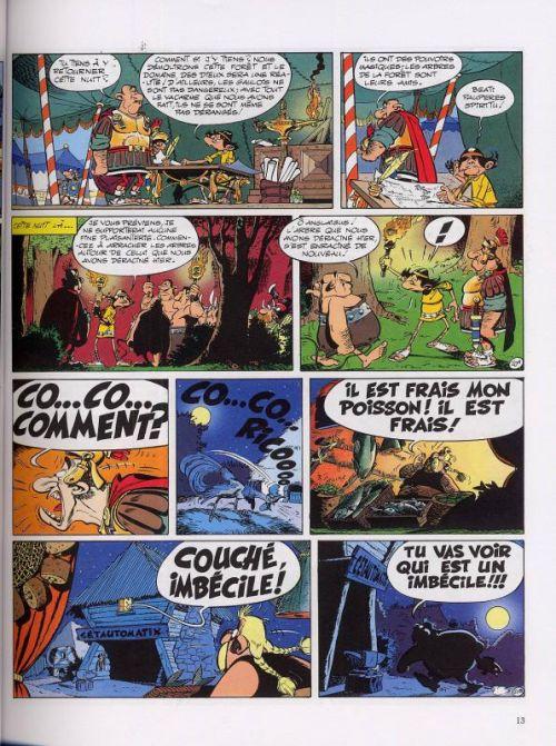 bande dessinee asterix et le domaine des dieux