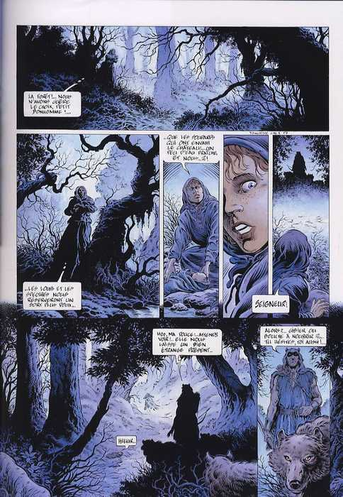 Legende T1 L Enfant Loup 0 Bd Chez Soleil De Swolfs Swolfs