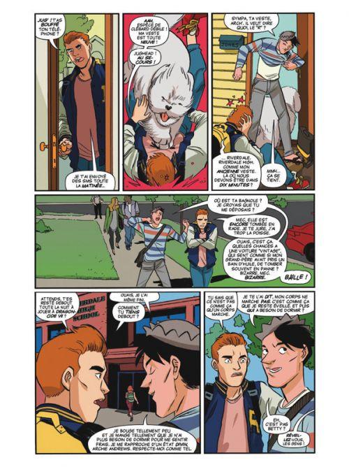 Riverdale présente T1  Jughead (0), comics chez Glénat de Zdarsky,  Henderson, Szymanowicz