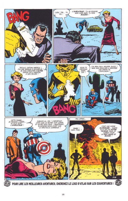Decennies Marvel Dans Les Annees 50 Captain America La