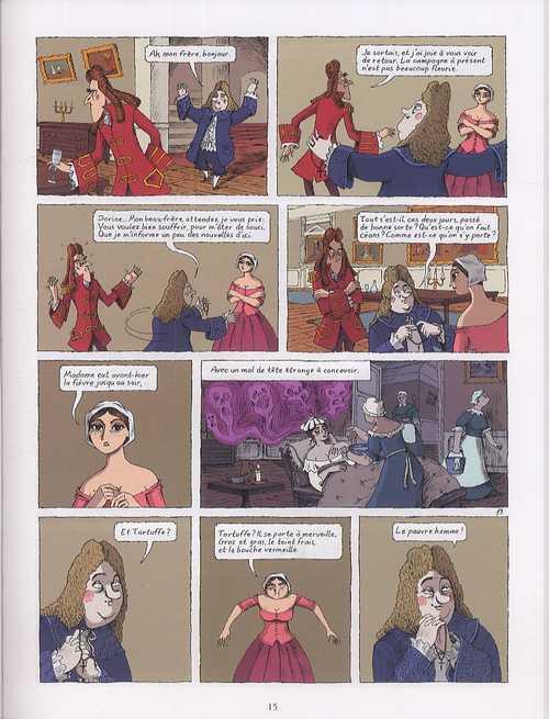 Illustrations des principales pièces de Molière : Tartuffe, L'Avare ...
