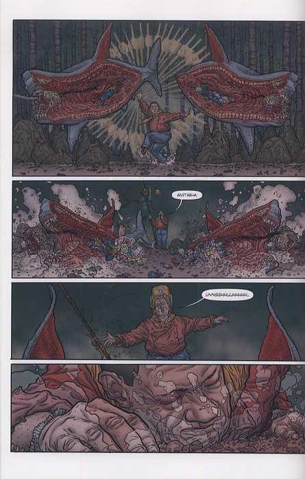 Le Shaolin Cowboy T3 : Dans les entrailles de la ville (0), comics ...