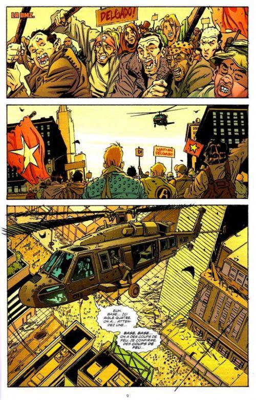 Dmz – edition hardcover, t6 : un jeu sanglant (0), comics chez urban