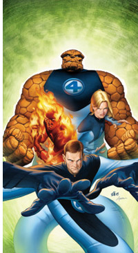 © Stuart Immonen - Fantastic Four