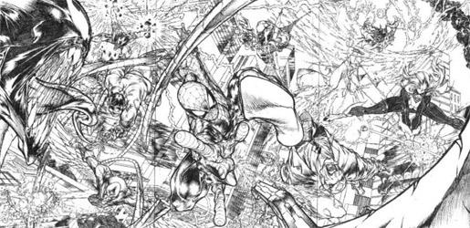 Interview comics de angel medina sur - Dessiner spiderman ...