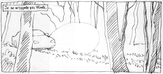 © Alexis Robin - storyboard Borderline tome 2